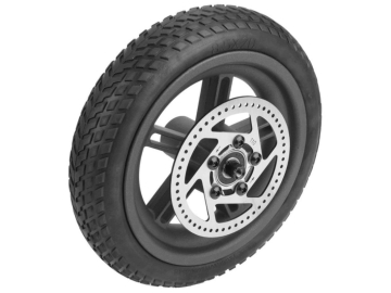 Mi Scooter Rear wheel + inflatable tire + disk brake plate