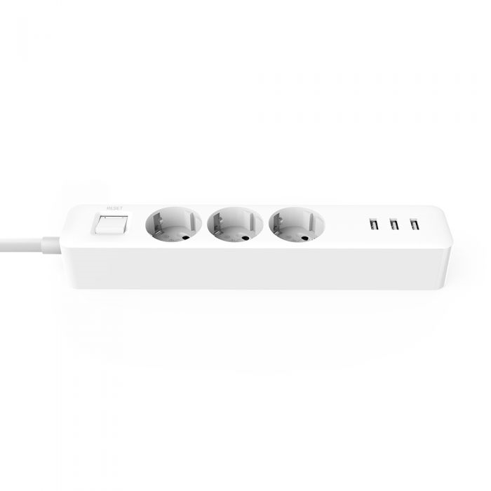 Mi Power Strip (3-outlet, 3 USB) White EU